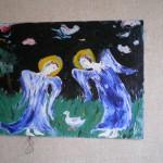 Ангелы спасают раненого гусенка
