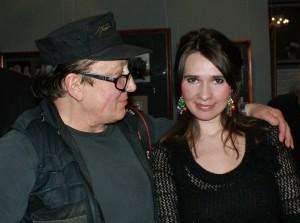 Михаил Шемякин и Ирина Романовская