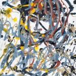 Портрет молодого человека. Линеарный портрет.