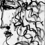 Фауст. Линеарный портрет.