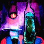 Абсент. 40х30, х.м. 2011г. (Absinthe liqueur. Oil on canvas)