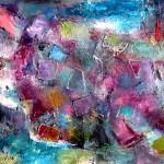 Любовники. 45х50, х.м. 2010г. (Lovers. Oil on canvas)