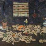 """Русский Север"", натюрморт - 2004 год, холст, масло, 69,5Х89,5"
